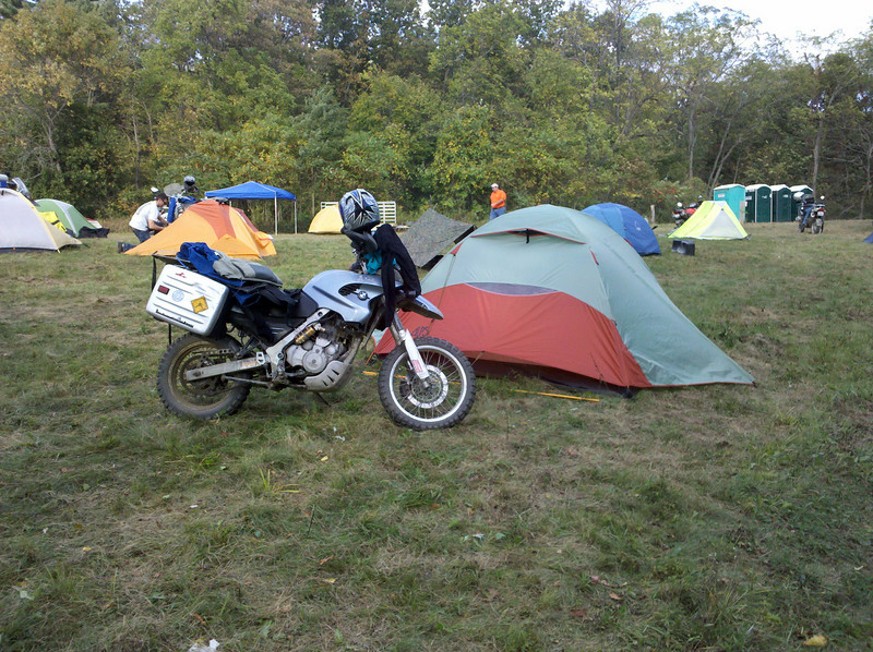 Itu0027s reasonably easy for me to carry my 4 man Alps Mountaineering Lynx. & Circus tent | Adventure Rider